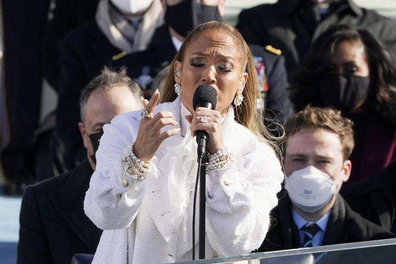 Jennifer Lopez in 2021