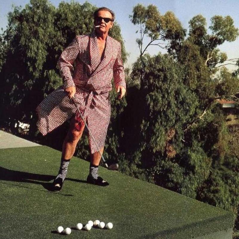 Jack Nicholson's Golf Clubs