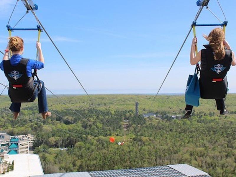 HighFlyer Zipline at Foxwoods