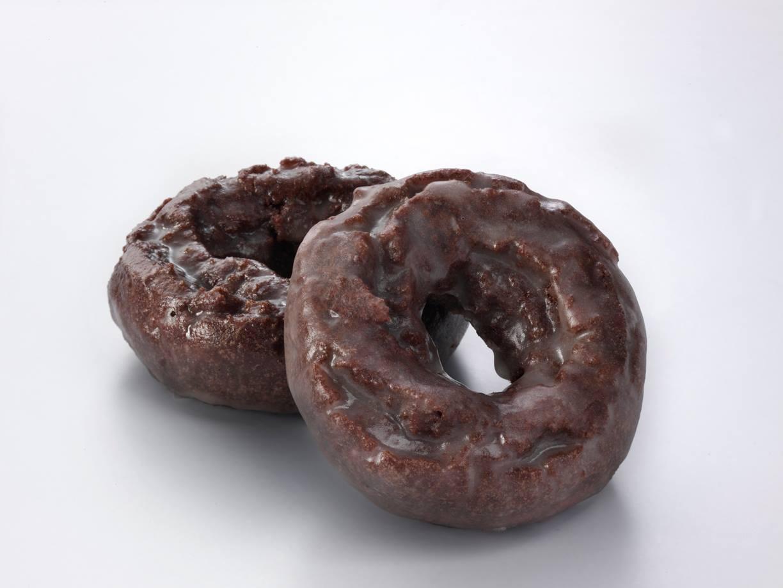 Glazed Chocolate Cake Donut