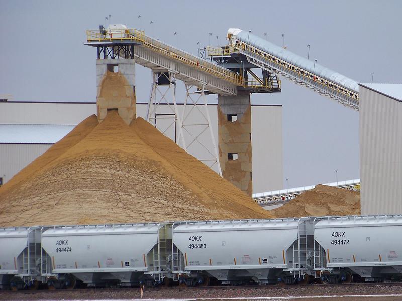 Sand Mining for Fracking