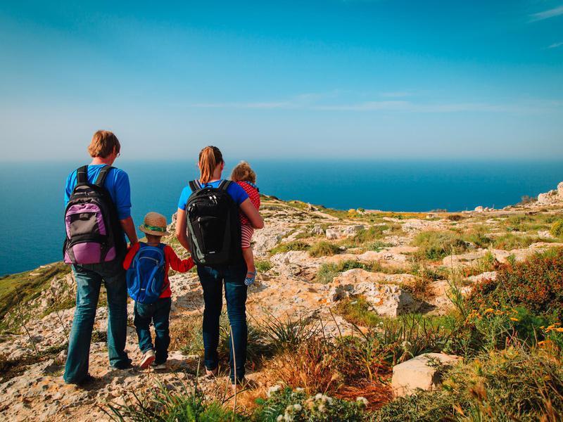 Family in Malta