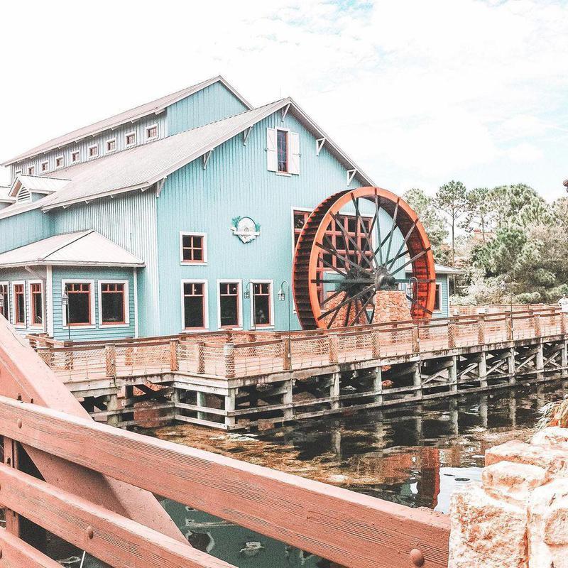 Water view of Disney's Port Orleans Resort - Riverside
