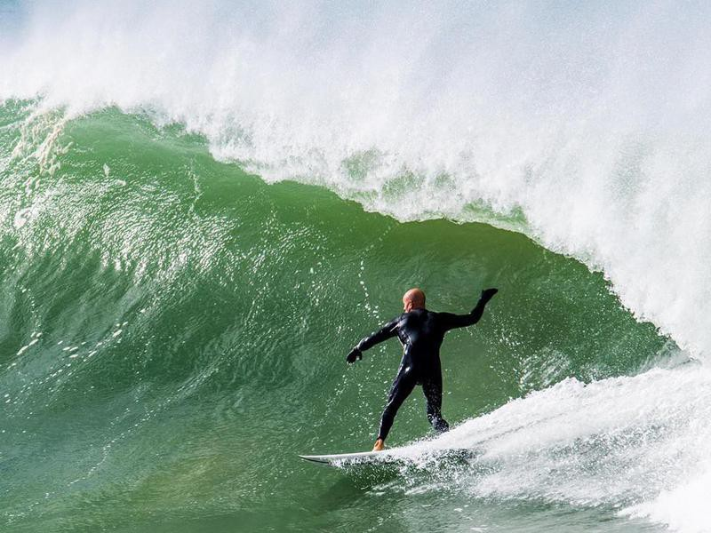 Kelly Slater in South Africa