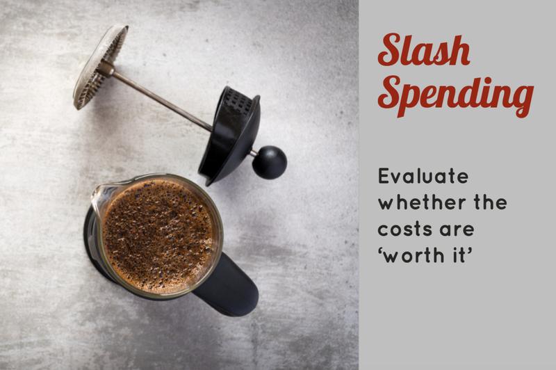Slash spending to save more money