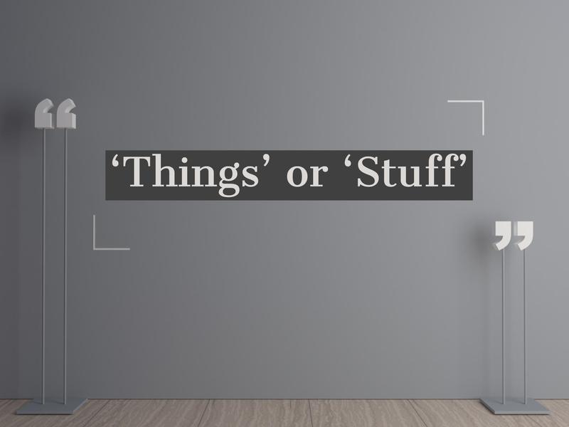 things stuff