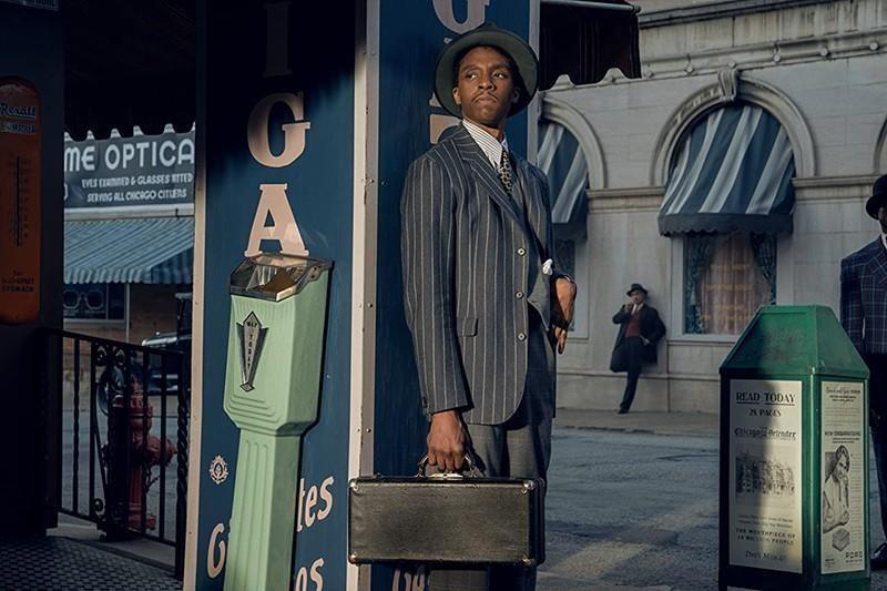 """Chadwick Boseman, """"Ma Rainey's Black Bottom"""", was nominated"""