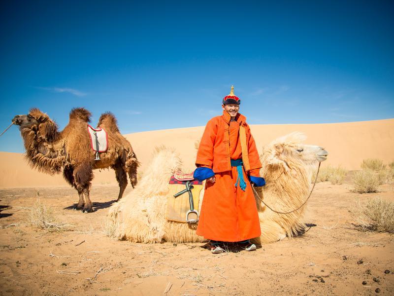 Mongolia Camel Ride