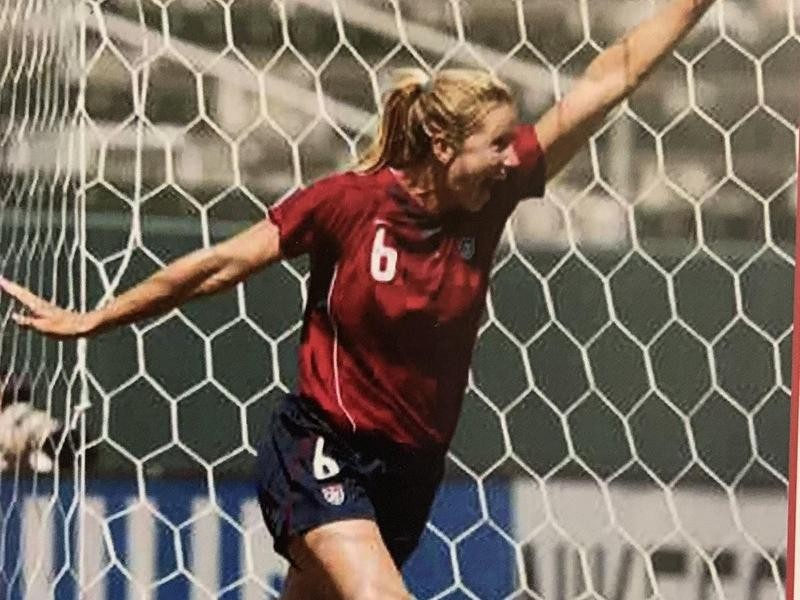 USWNT forward Danielle Fotopoulos