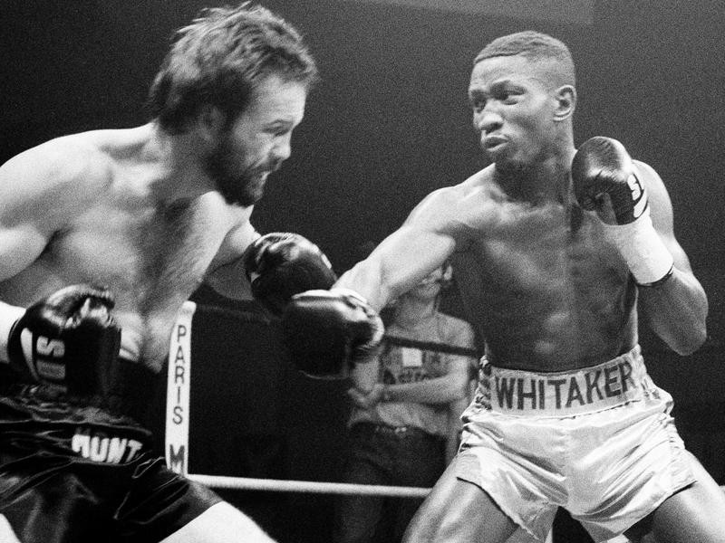 Pernell Whitaker and Davey Montana