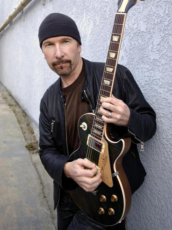 David Evans, aka the Edge of U2