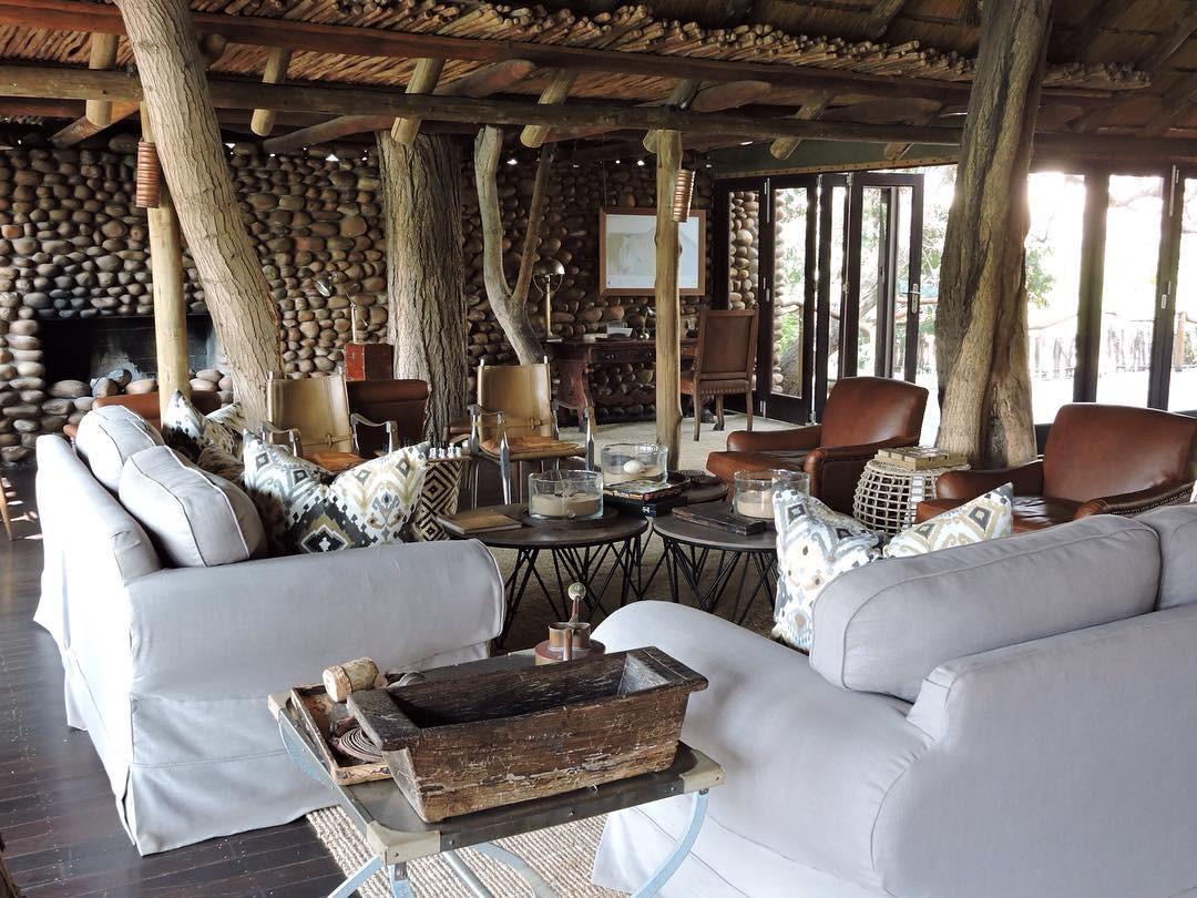 Luxury safari eco lodge in Namibia