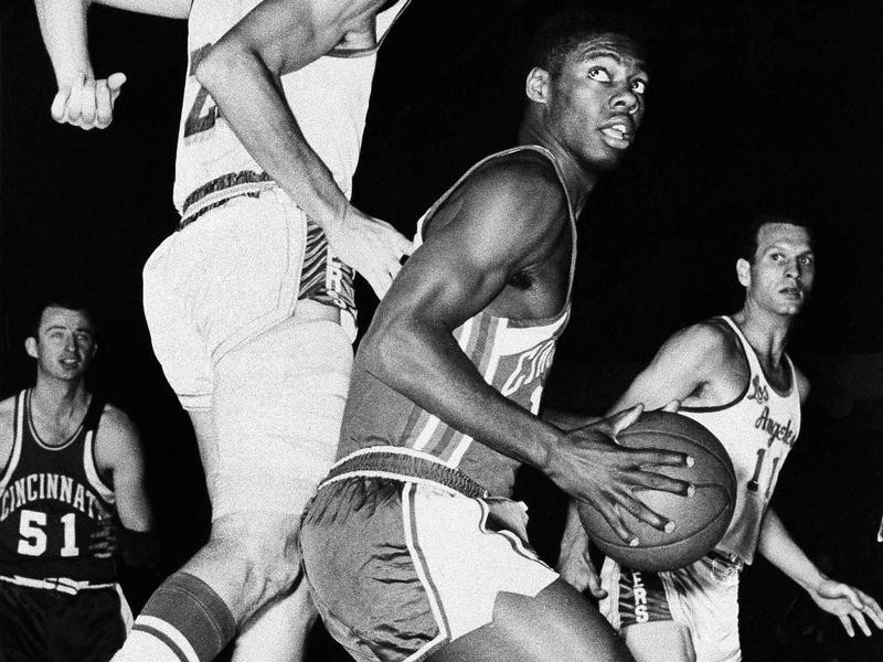 Cincinnati Royals guard Oscar Robertson