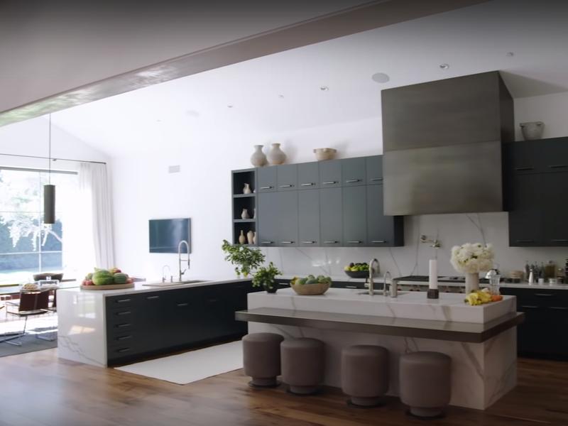 Kris Jenner's kitchen
