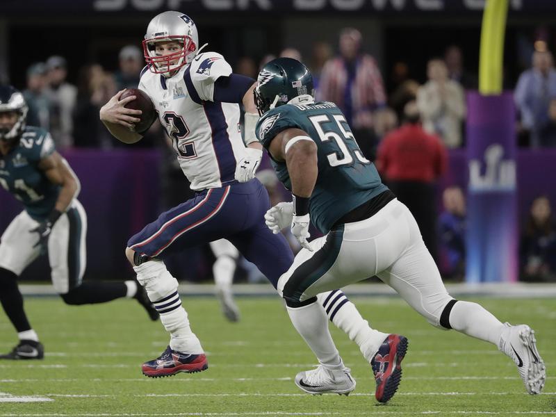 Tom Brady in Super Bowl 52