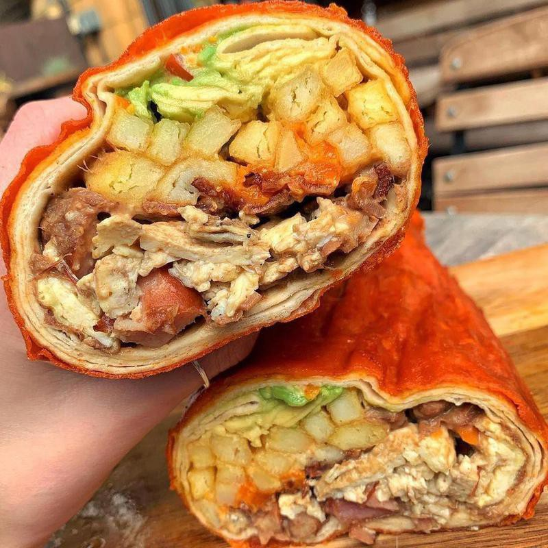 Red Dog Saloon breakfast burrito