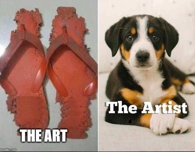 Doggy artist