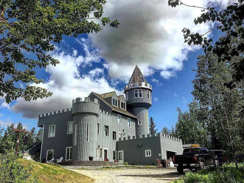 Castle House in Alaska