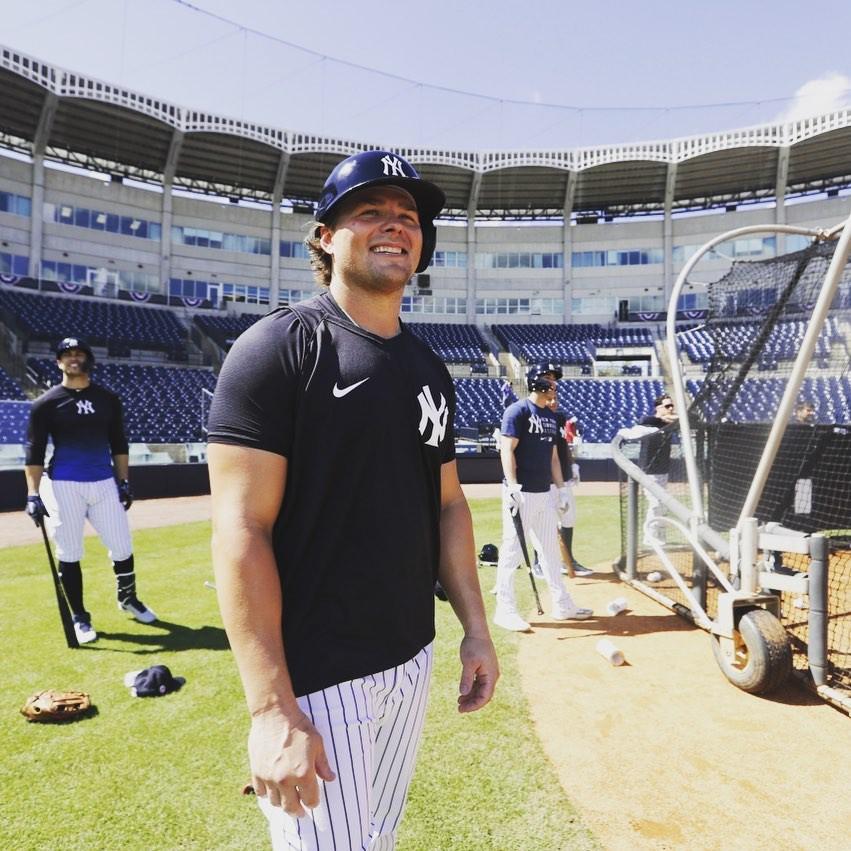 New York Yankees first baseman Luke Voit
