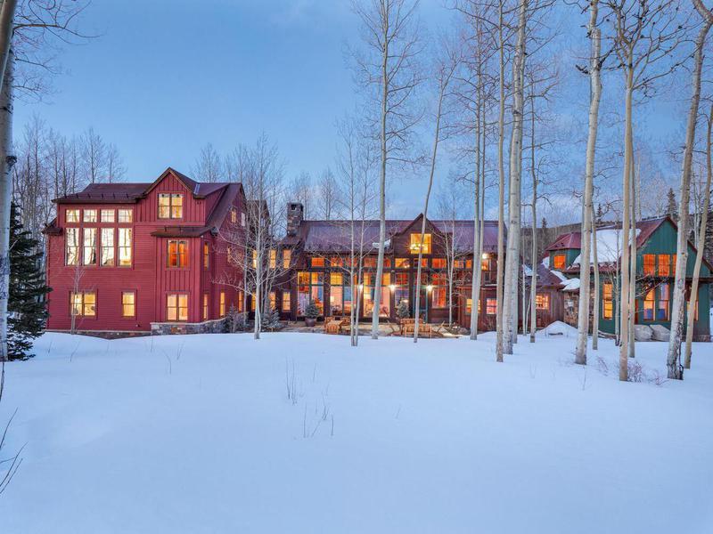 Seinfeld's mansion in Telluride, Colorado