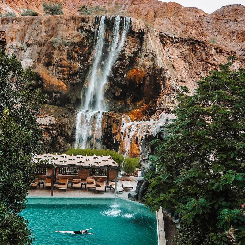 Pool at Ma'In Hot Springs Resort