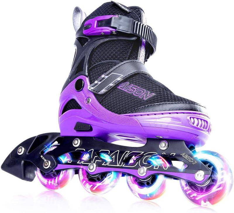 Papaison adjustable inline skates for kids
