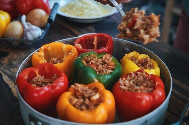 North Dakota: Stuffed Pepper