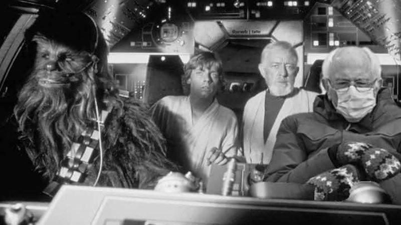 Bernie Sanders in Star Wars