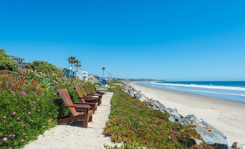 Malibu beachfront property
