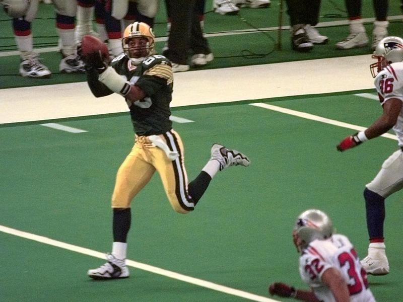 Antonio Freeman in Super Bowl XXXI