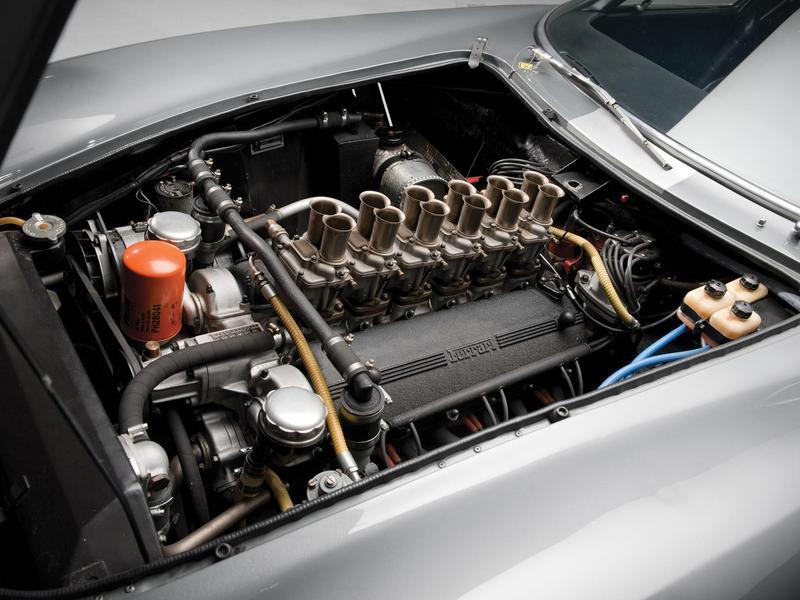 1964 Ferrari 275 GTB/C Speciale engine
