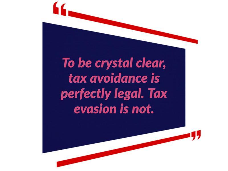 taxes to avoid