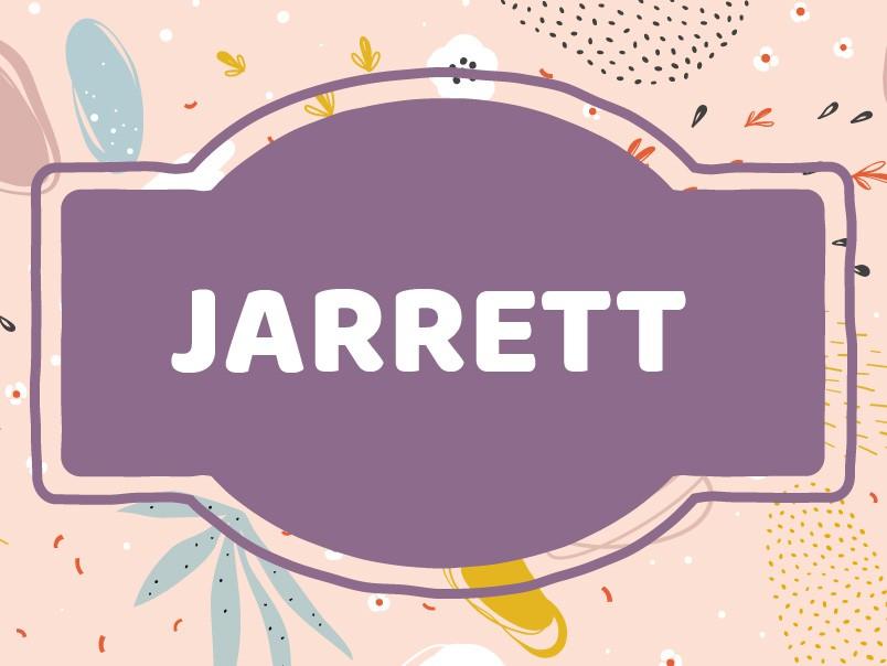 J Name Origins: Jarrett