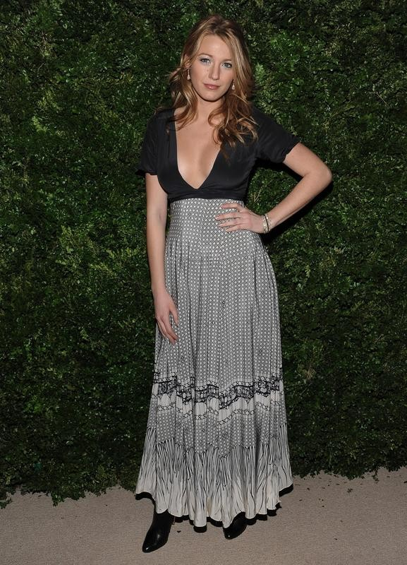 Blake Lively attends CDFA/Vogue Fashion Fund finalists event in New York