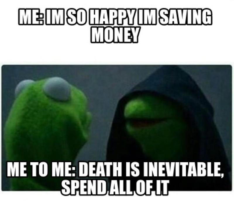 Savings meme