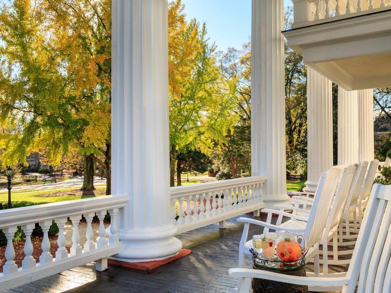 Southern plantation porch
