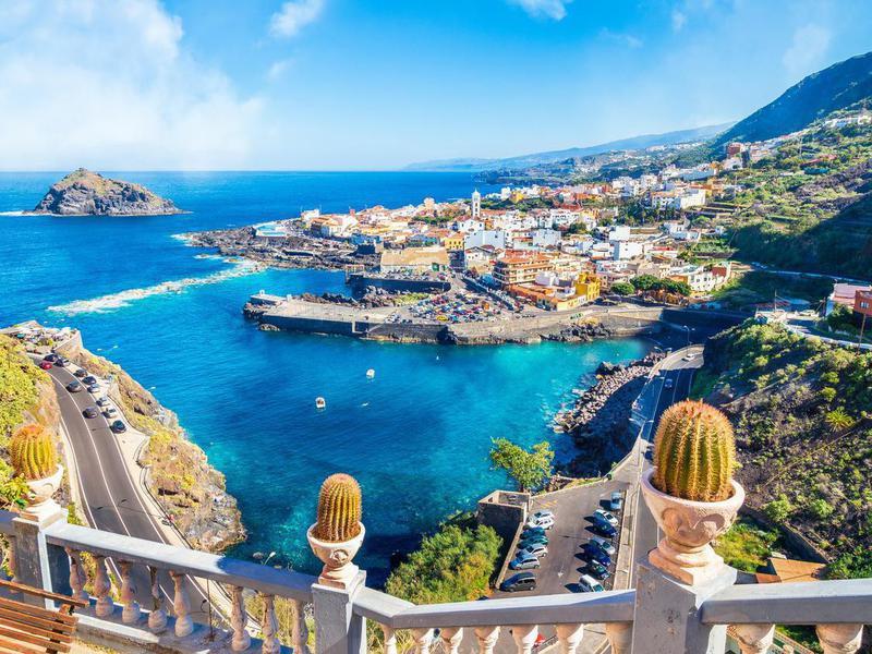 Garachico in Tenerife, Canary Islands, Spain
