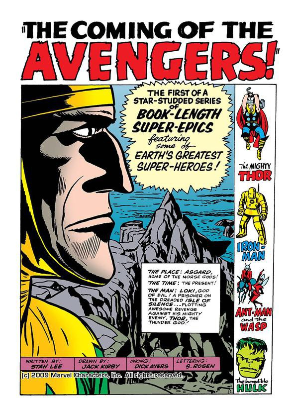 Avengers No. 1