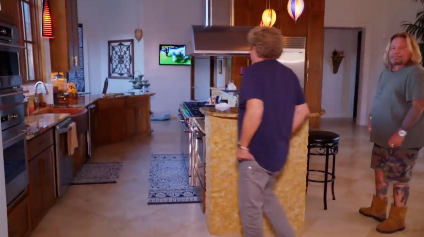 Vince Neil's kitchen