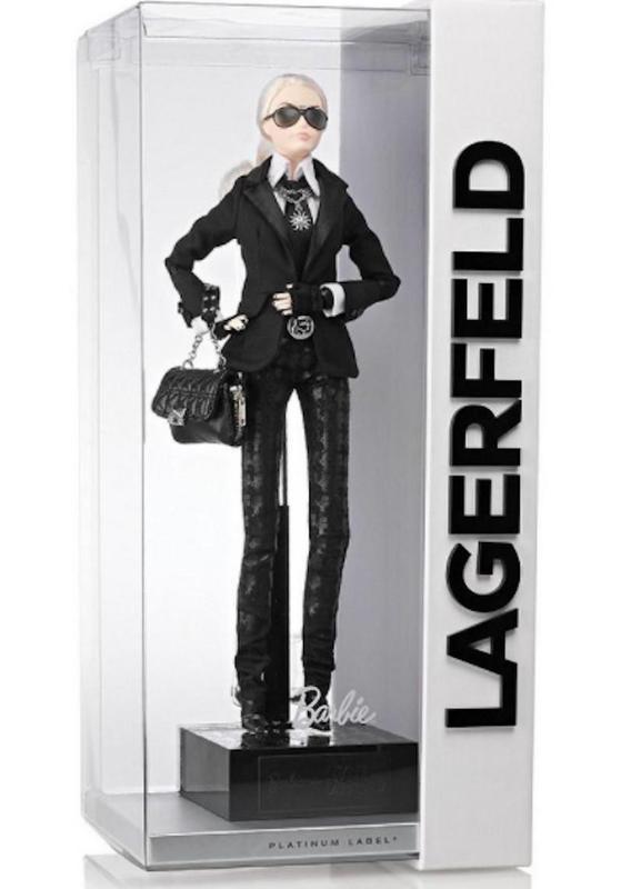 Karl Lagerfeld Barbie in a box
