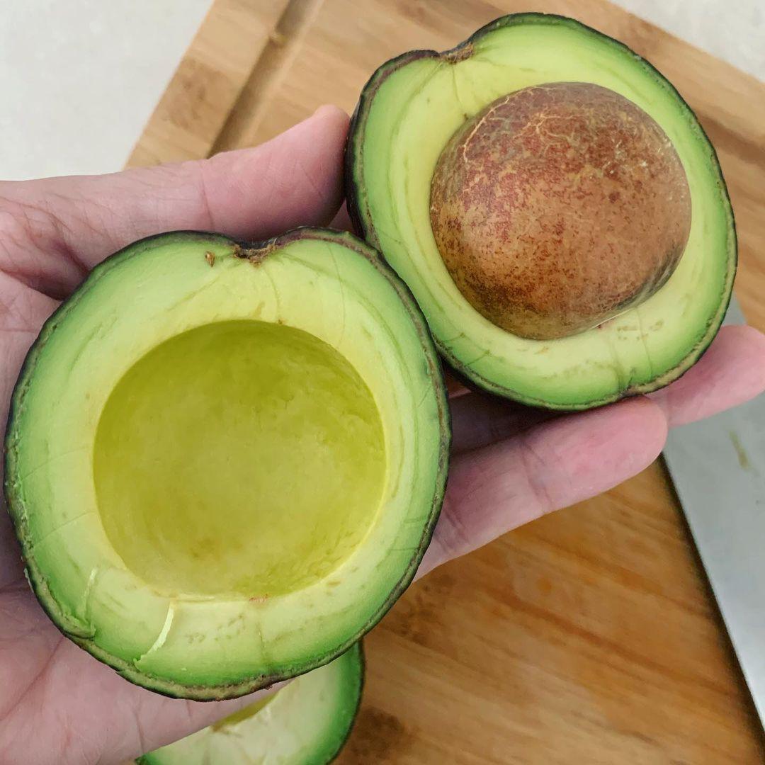 Avocado with big seeds