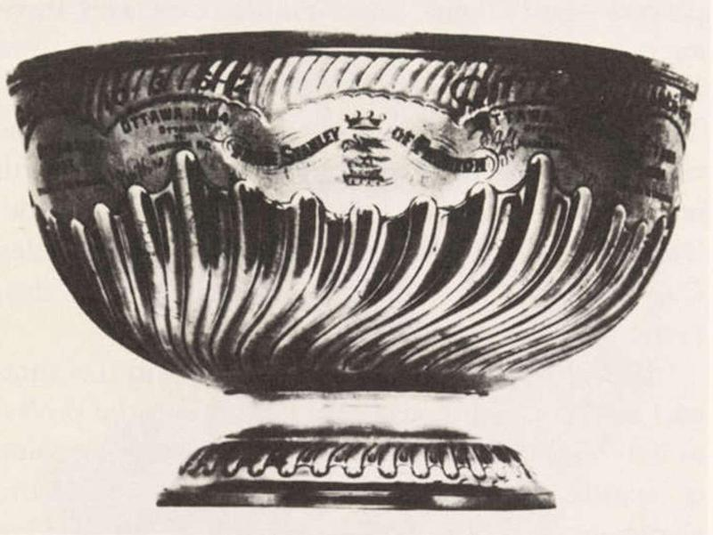 The first Stanley Cup