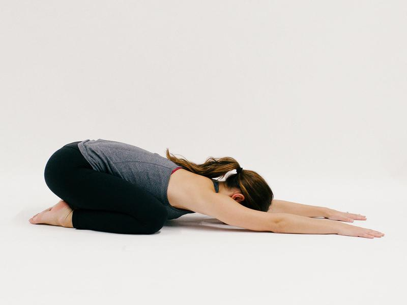 Childs Pose - 10 Minutes of Yoga to Jumpstart Your Work Day