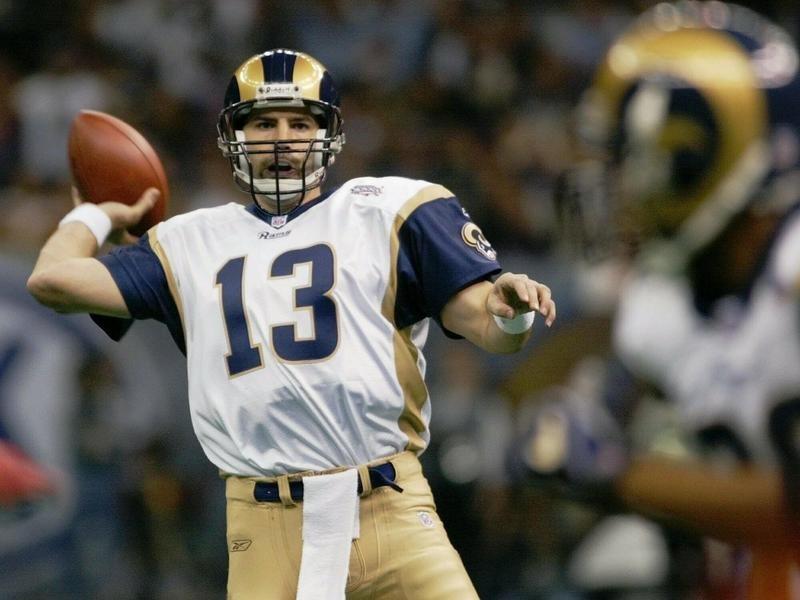 St. Louis Rams quarterback Kurt Warner
