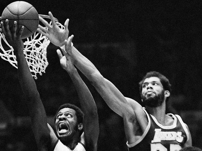 Kareem Abdul-Jabbar and Larry Demic