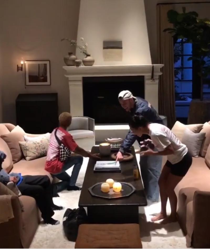 Kendall Jenner's living room