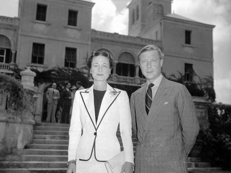Edward and Wallis Simpson in Bermuda in 1940