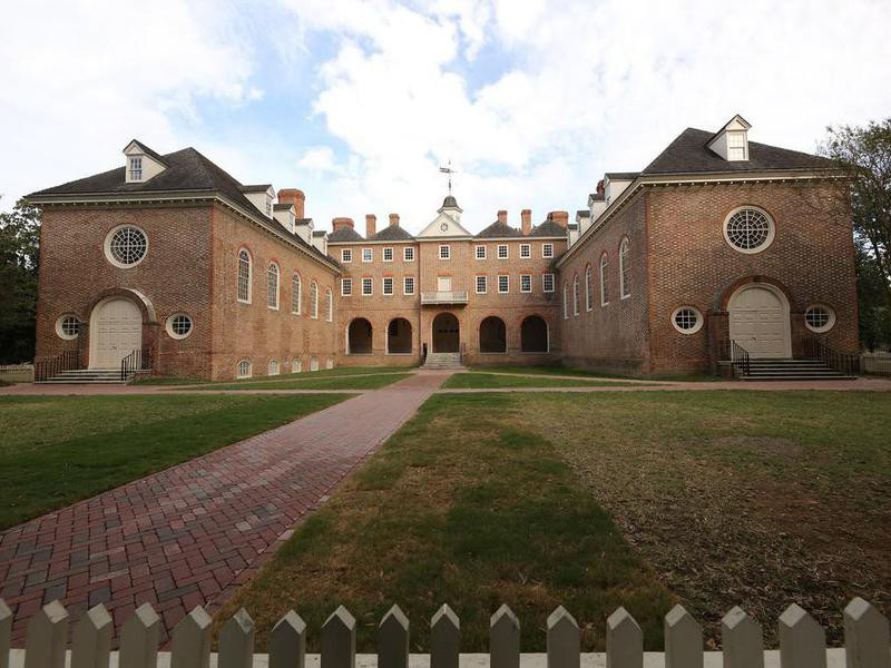 The College of William and Mary building