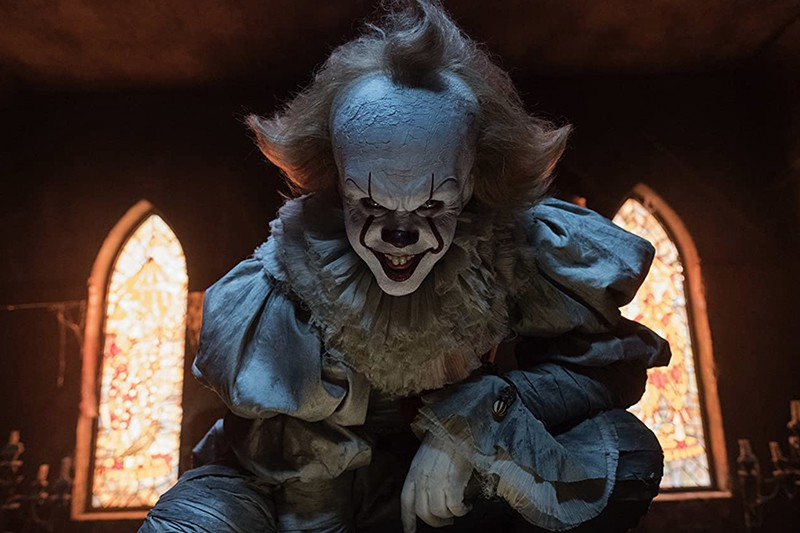 Pennywise as a bad guy