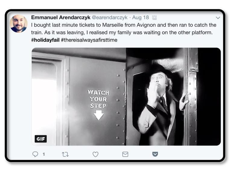 Emmanuel's Tweet